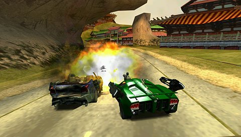 Vehicular carnage comes to the PSP.