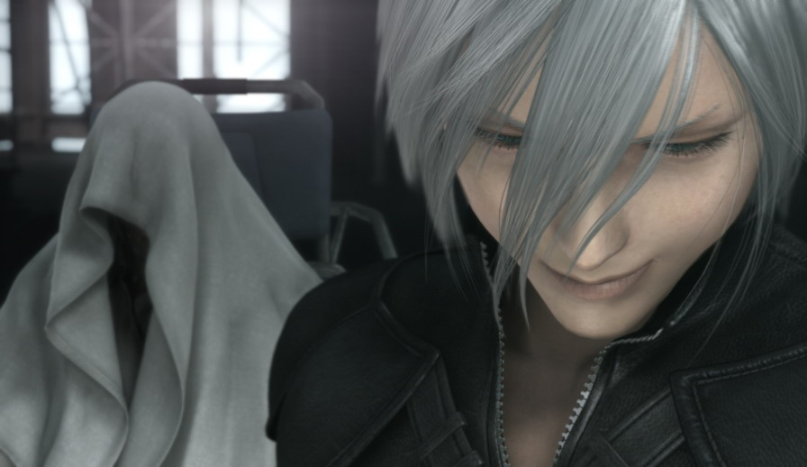 Sephiroth is dead in Advent Children, but he's still so powerful that he can *will people into existence*.