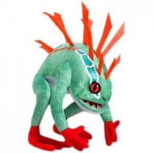 The Murloc plush toy is one of the items under the WOW licensing team's supervision.