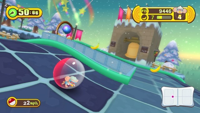 Super Monkey Ball: Step and Roll.