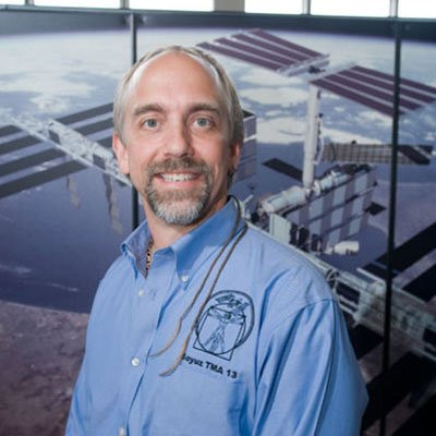 Private space pioneer Richard Garriott.