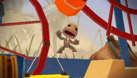 Sackboy is thrilled to have his PSP price lowered to $20 or free.