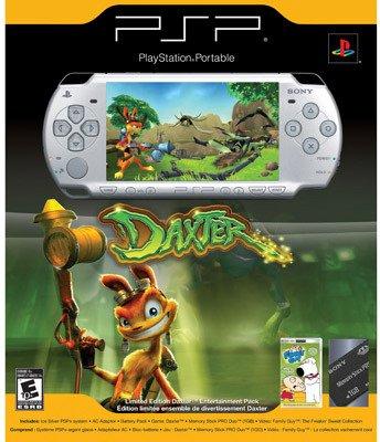 Daxter's shiny new PSP.