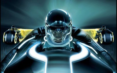 Tron Evolution appears to be a prequel to Tron Legacy (pictured).