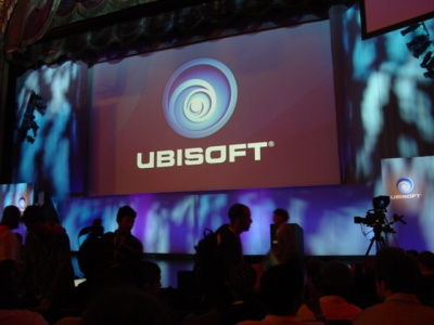 The calm before the storm at Ubisoft's E3 press conference.