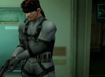 Snake hides out in Metal Gear Solid 2: Sons of Liberty.