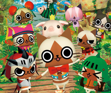Fun fact: Capcom stated that the majority of Monster Hunter Diary's players are women.