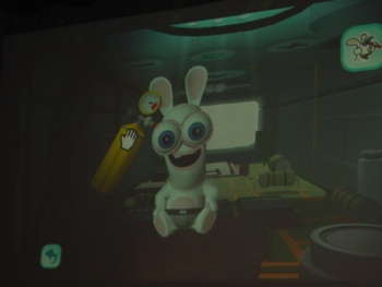Players will be able to customize their Rabbids by squishing their heads, inflating their eyeballs, making them wear funny hats, and more.