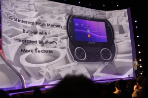 The PSP Go will have video delivery service native to the machine as well.