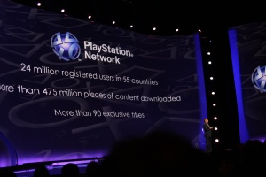 Just in case the games don't grab you, Sony came packed with everyone's favorite thing: numbers!