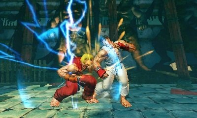 Super Street Fighter IV 3D will be a 3DS launch title.