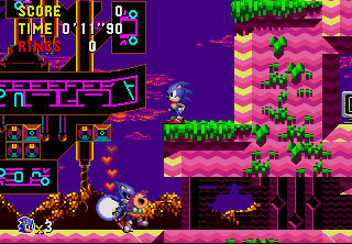 Amy and Metal Sonic did not hit it off.