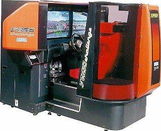 Ferrari F355 was an eye-catching--but unforgiving--arcade driving game.