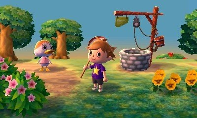 Animal Crossing 3DS will debut in Japan later this year.