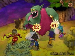 The game will apparently involve characters shouting numbers at big greenish guys.