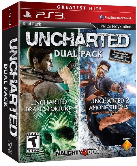 Slake that thirst for Drake with the Uncharted Dual Pack.