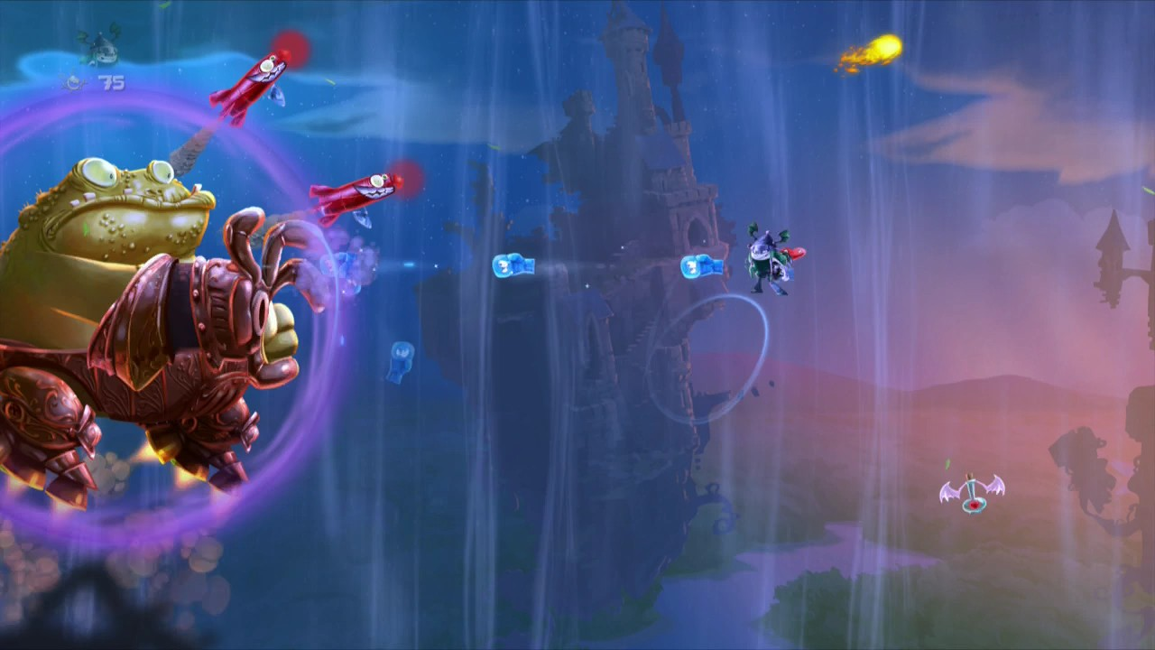 The wind beneath your wings in this boss fight is wind.