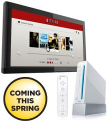 The Wii is the last console to support Netflix in the US.