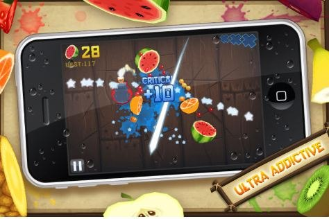 Fruit Ninja appears to be slicing its way onto Kinect.