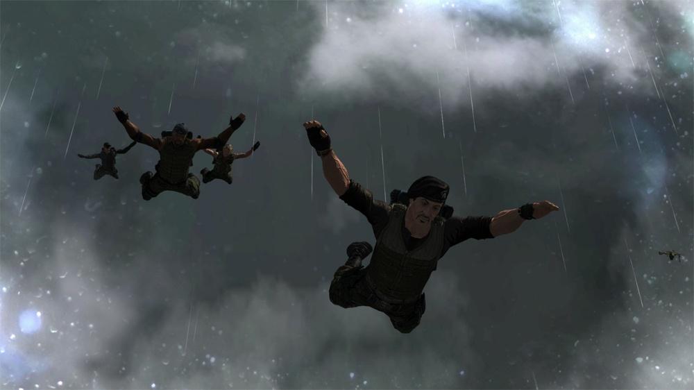 It's raining mercenaries! Hallelujah!