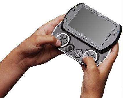 The PSP Go debuts October 1.
