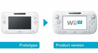 The redesigned Wii U tablet controller