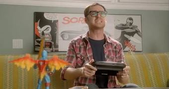 A shot from Nintendo's Wii U zombie video.