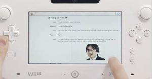 Here's the Wii U Internet browser!