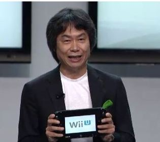 Here's a first look at the black Wii U tablet.