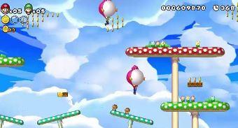 New Super Mario Bros. U in action.
