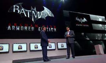 Batman Arkham City: Armored Edition.