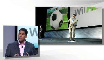 Reggie remembers the original Wii Fit.