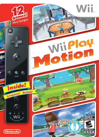 Wii Play: Motion will bring 12 new minigames.