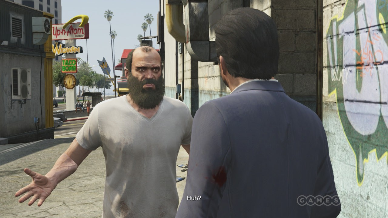 Trevor wants to know when the PC version will be confirmed.