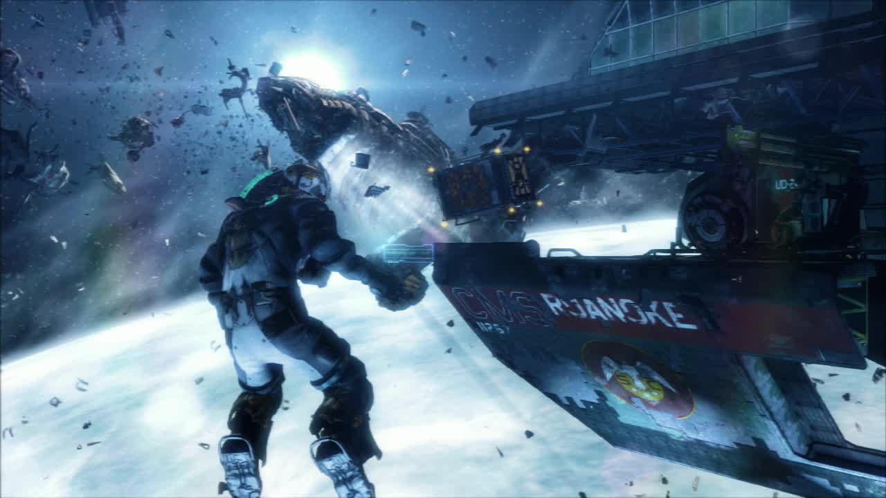 Whether you're stuck in a dark hallway or floating in space, Dead Space 3 looks fantastic.