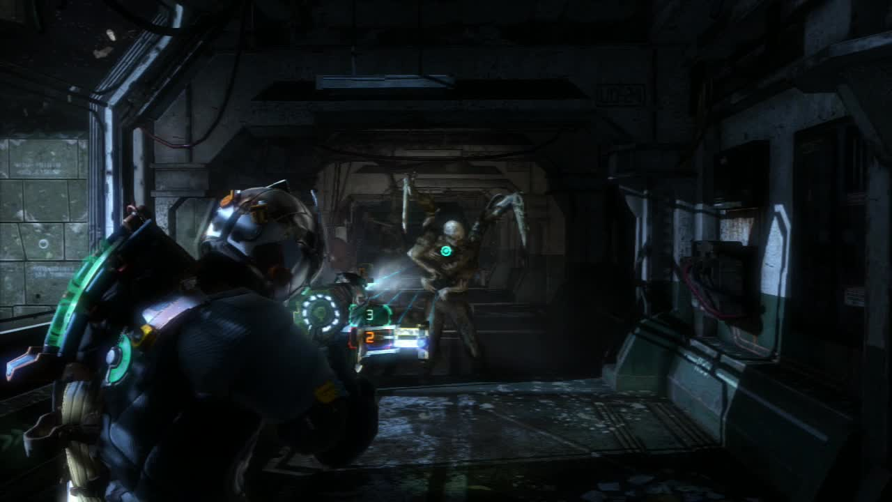 Dead Space 3 does a terrific job of using lighting to establish a tense atmosphere.