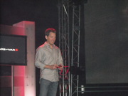 Judging by those red eyes, Mr. Bleszinski is fired up and ready to go.