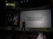Iwata-san takes the stage.