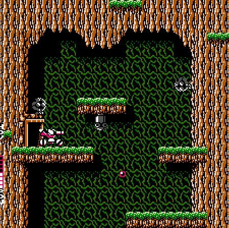 The NES Blaster Master, in all its 8-bit glory.