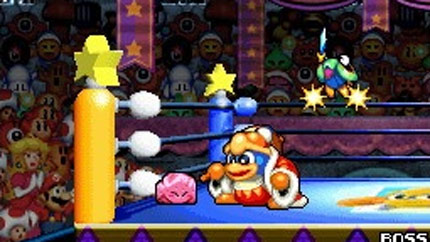 Enlist a friend to help you get rid of King Dedede.