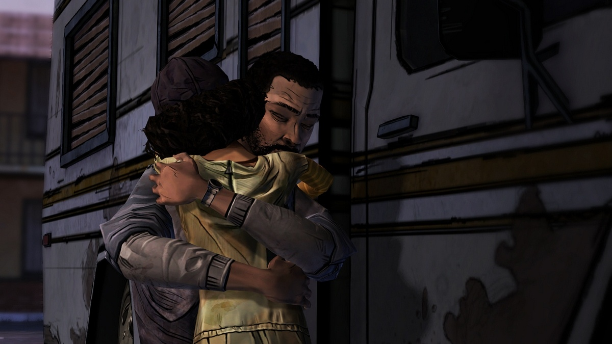 Lee's bond with Clementine grows stronger in Long Road Ahead, even as strain within the larger group hits the breaking point.