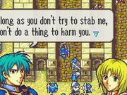 Ephraim's candor makes him a likable hero straightaway. He's one of dozens of great characters in Fire Emblem: The Sacred Stones.