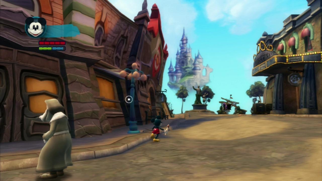 The Magic Kingdom is so close yet so very far away.