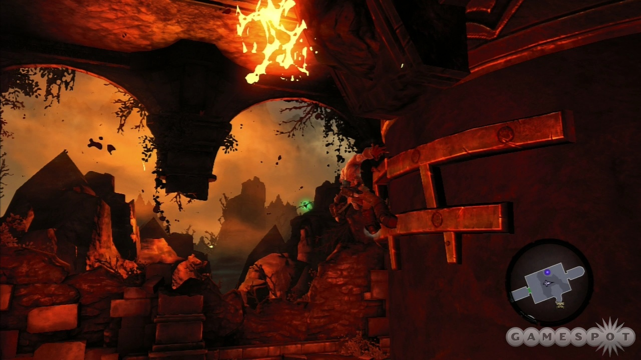 The game's platforming mechanics are as smooth as molten lava.