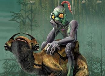 Oddworld will keep spinning after all.