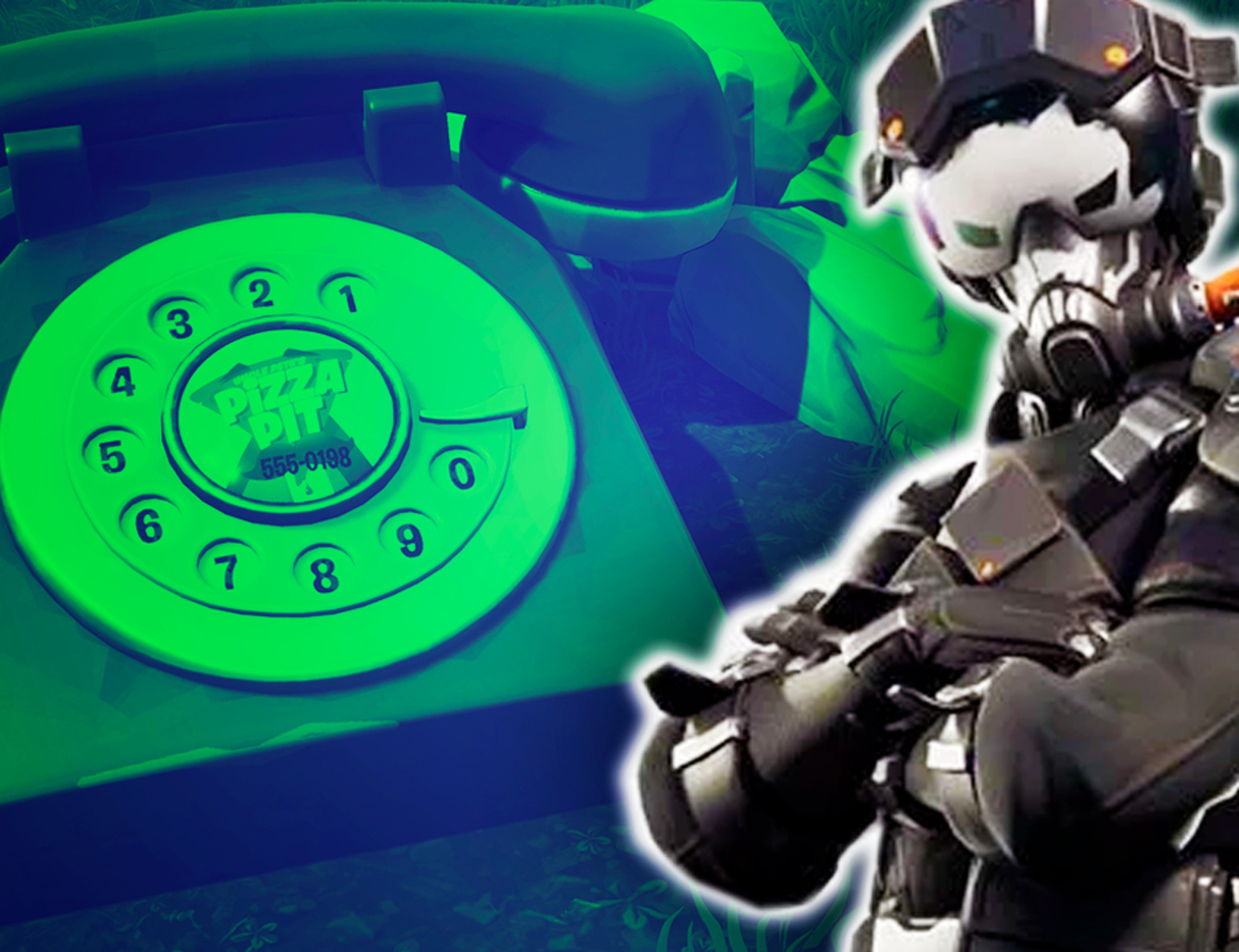 How To Dial Number Fortnite Fortnite Week 8 Guide Where To Dial Durrr Burger Number On Big Telephone Season 8 Challenge Gamespot