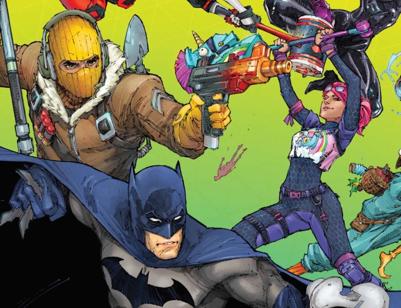Batman.does Not Kill Fortnite Batman Dies Hundreds Of Times During Fortnite Comic Crossover Gamespot