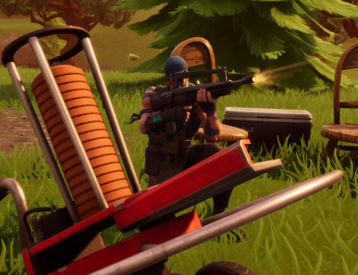 Pigeons In Fortnite Clay Pigeons Locations For Fortnite Where To Do Score 3 Week 8 Challenge Gamespot