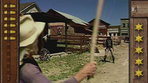 Mad Dog McCree is a cult classic FMV Laser Disc Light Gun Game where you are in the Wild West against Mad Dog's men.