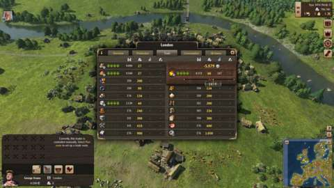 Most of Grand Ages: Medieval's gameplay revolves around balancing spreadsheets